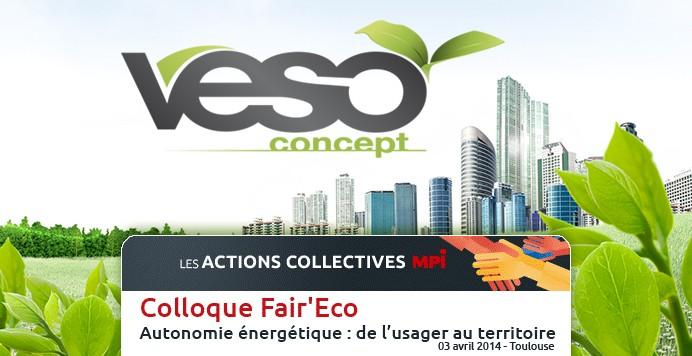 Veso Concept dans le programme Fair'Eco