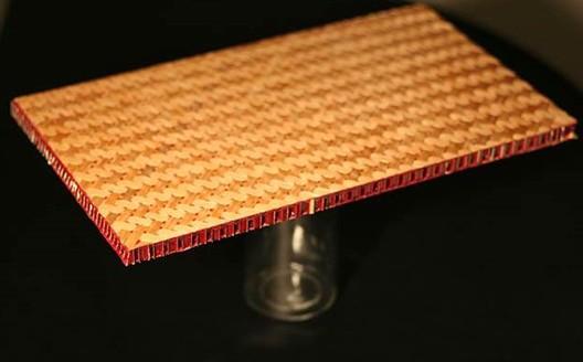 MATIÈRE : Panneaux structurelles sandwich Bambou.